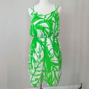 Target Lilly Pulitzer Green Tropical Dress